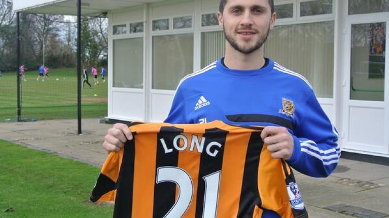 Long time coming: Irish striker completes move to Hull from West Brom