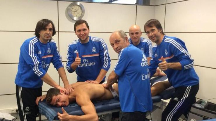 Ronaldo to say thanks to Real Madrid physios by buying them all new cars