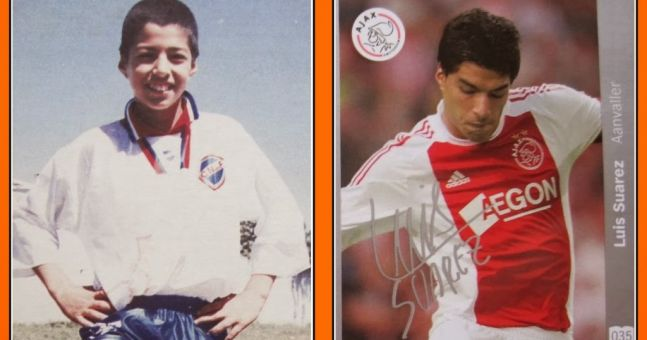 Check out Luis Suarez as a 14-year-old playing for Nacional in Uruguay