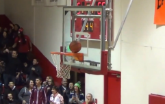 Video: High school basketball player shoots incredibly unlucky shot