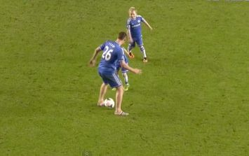 Video: John Terry gets nutmegged by his own son