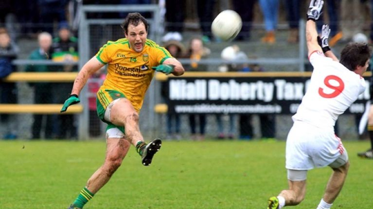 Video: Michael Murphy scored a very Michael Murphy goal against Tyrone yesterday
