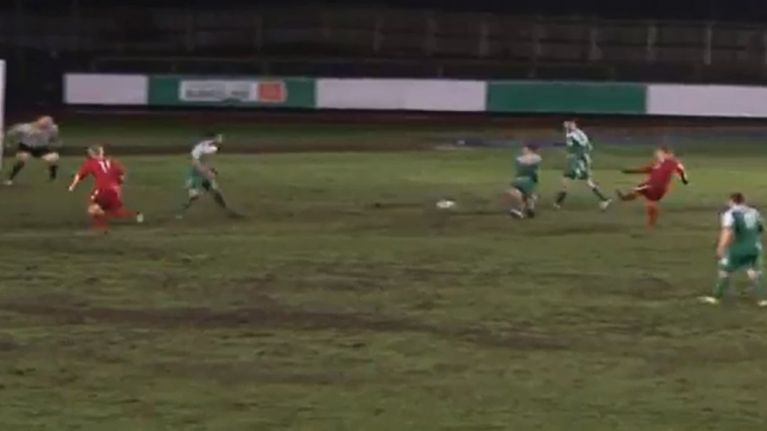 Video: Conference player scores the type of goal anyone who's ever played FIFA has been trying to score for years