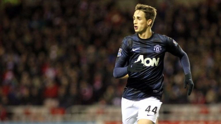 Adnan Januzaj's shinpads give the clearest indication of yet of his international future