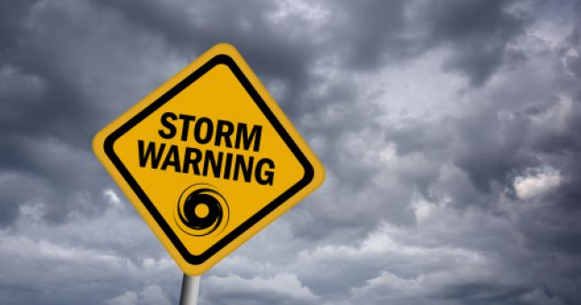 Pic: The Weather Channel petrifies viewers with warnings about 'Winter storm Anus'