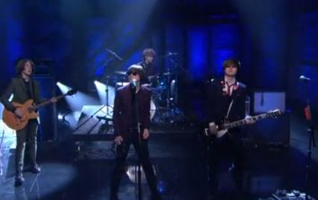 Video: The Strypes sounded fantastic on Conan O'Brien last night