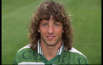 Celtic legend Jorge Cadete has fallen on hard times