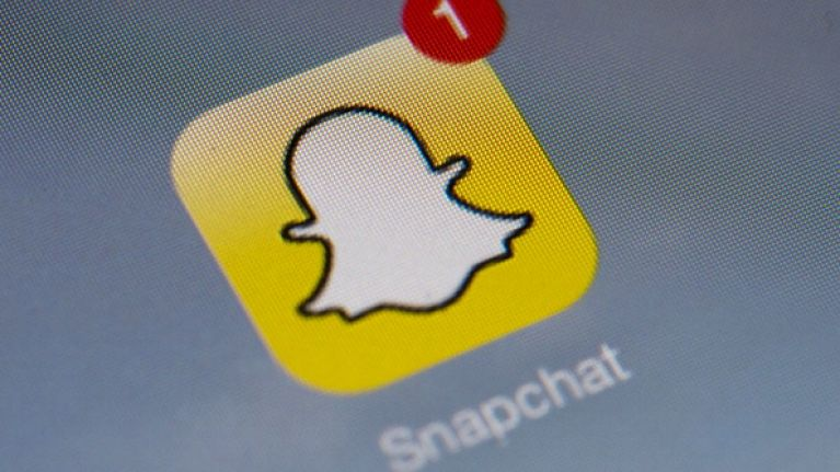 Irish snapchat users