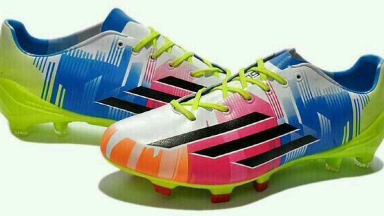 6e215ba9e3b Search. Pic  Lionel Messi s brand new boots are very
