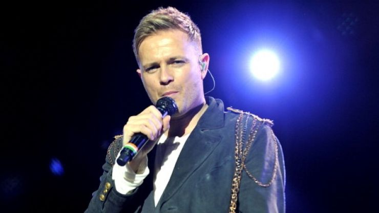 Video: Nicky Byrne and chums pull off a rugby-themed bowling ball trick