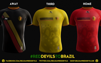Pic: This is how you do it Scotland; Belgium release very classy World Cup kits