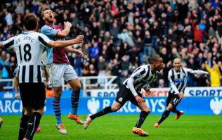 Vine: Loic Remy relieves the pressure on Alan Pardew with this last minute rocket against Villa