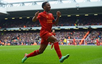 Video: Raheem Sterling brings an epic game of foot-volleyball to a finish
