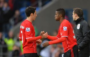 Pic: Did you know that Wilfried Zaha aged 10 years on the Man United bench?