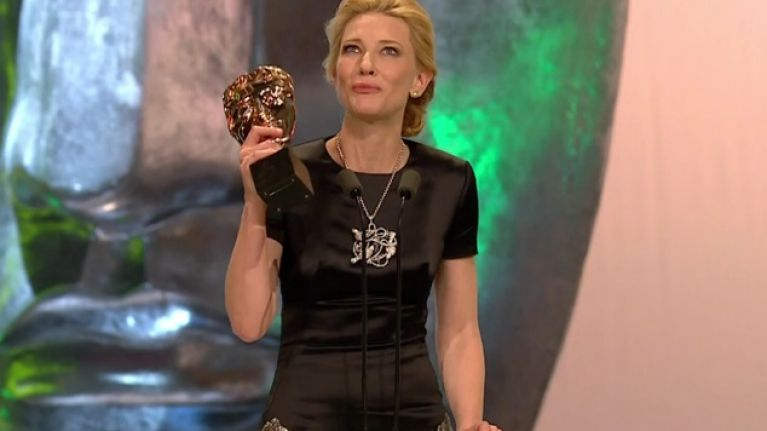 """""""A monumental presence"""" – Cate Blanchett dedicates her BAFTA win to the late, great Philip Seymour Hoffman"""