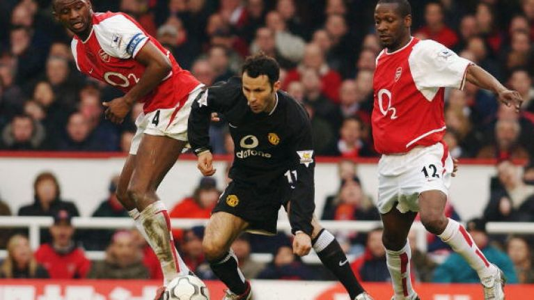 e30e7ce42e8 Video  Arsenal v Manchester United  The best goals of the last 20 years