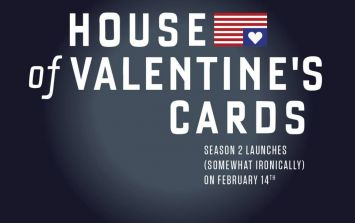 Gallery: Irish company produces very funny range of cold-hearted, House of Cards themed Valentine's Day cards