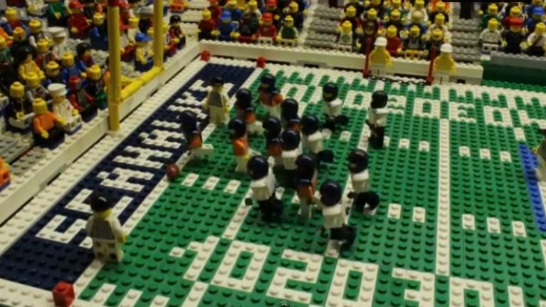Video: Relive all the action of Super Bowl XLVIII in LEGO format