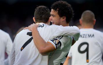 Video: Pepe cheekily nutmegs Cristiano Ronaldo at Real Madrid training