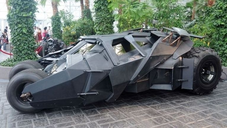 Fancy owning your very own Batmobile? A Tumbler replica is currently on sale for $1m