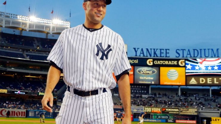 Pics: Derek Jeter's 'dating diamond' will make you wish you were a millionaire baseball player