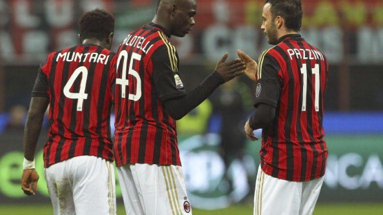 Video: Mario Balotelli scores an outrageous winner for AC Milan