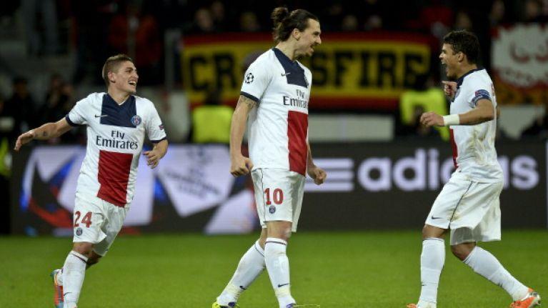 Video: Zlatan Ibrahimovic smashes home a beautiful goal for PSG