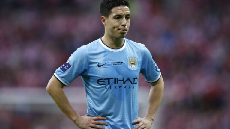 Samir Nasri left out of France's World Cup squad by Didier Deschamps