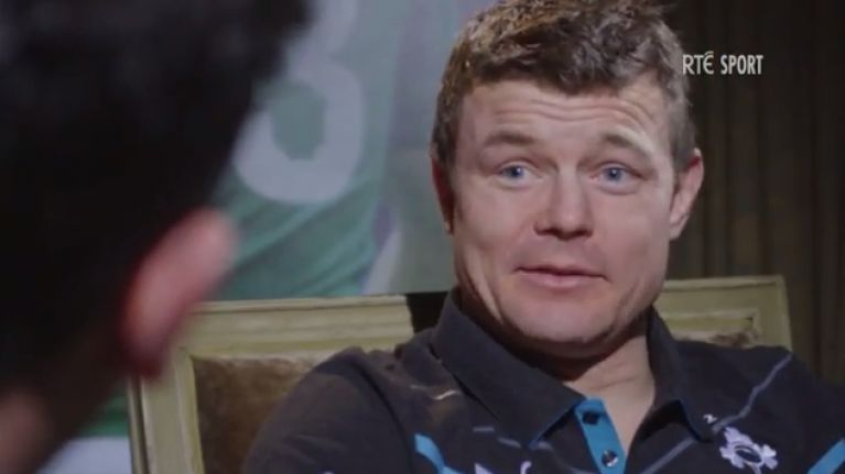 Video: Check out Shane Horgan's interview with Brian O'Driscoll in full