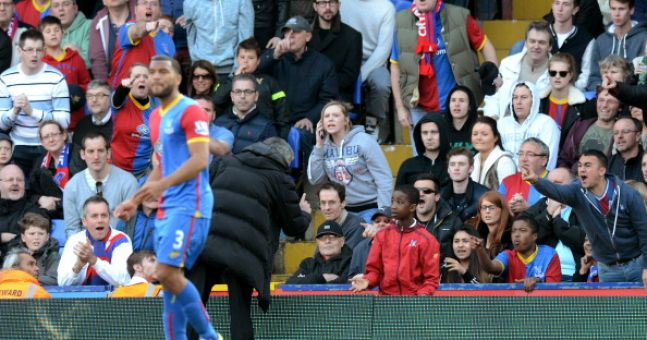 Pic: Jose Mourinho tells Palace ballboy that one of his players might punch him