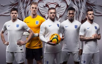 Pics: Here's the kit that England will be wearing at the World Cup this summer