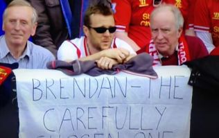 Pic: Liverpool fans never miss an opportunity to take the piss out of Man United