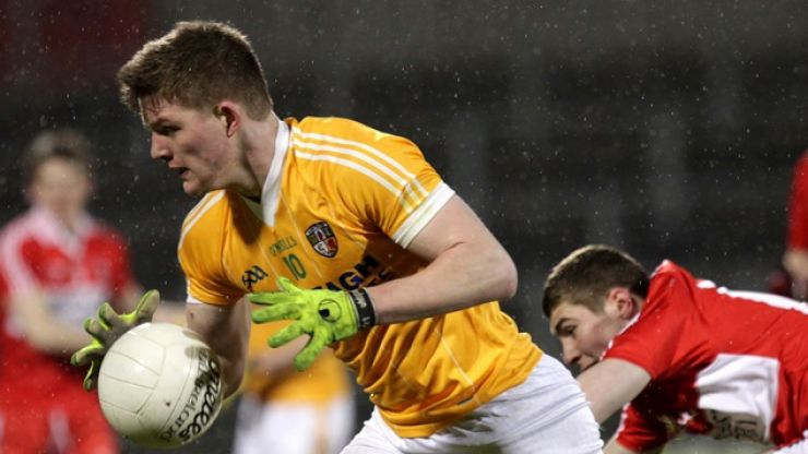 Video: As last-minute equalising GAA goals go, this one from Antrim's U21s is a real cracker