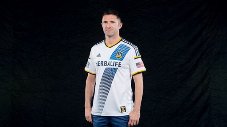 Pic: LA Galaxy capture Robbie Keane's entire career in one cool infographic