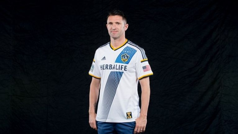 sports shoes eec4d a33b6 Pic: There's Robbie Keane showing off the brand new LA ...