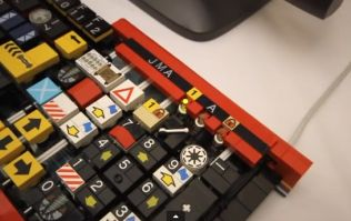 Video: This keyboard made of LEGO is definitely the best keyboard in the world