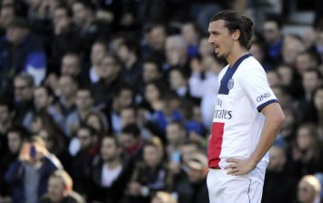 Vine: This Zlatan kung-fu backheel assist is very, very special indeed