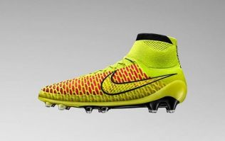 Picture: Nike have launched their own sock-boot hybrid with the deadly looking Magista