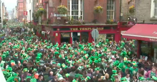 Gallery: Temple Bar is absolutely packed at the moment...