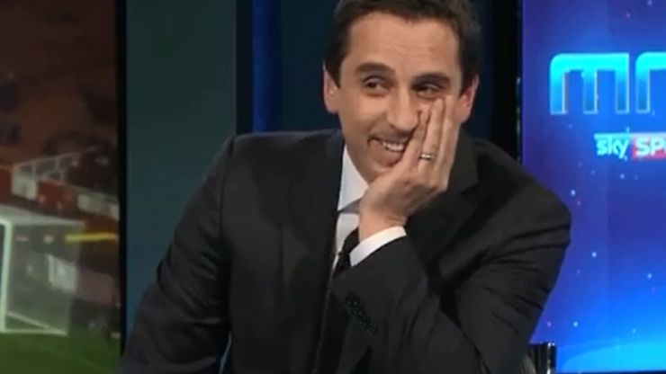 Video: Gary Neville brilliantly analyses THAT Ryan Giggs goal against Arsenal in 1999