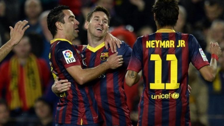 Pic: Messi, Xavi, Iniesta and Neymar get The Simpsons treatment