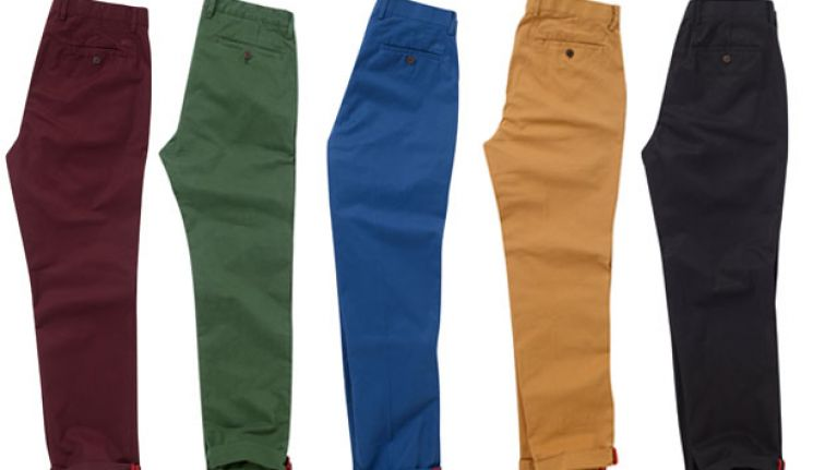 Style Guide: The best chinos to inject some colour into your wardrobe