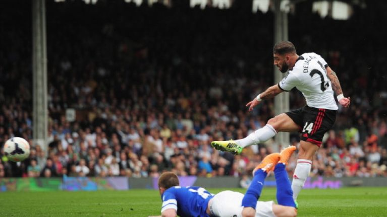 Gifs: Ashkan Dejagah's screamer is cancelled out as Everton fight back