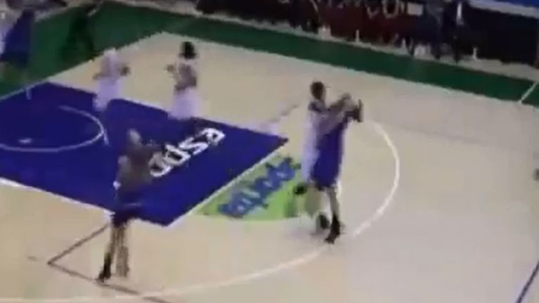 Video: Female basketball player in Finland flattens opponent with vicious  punch to the face