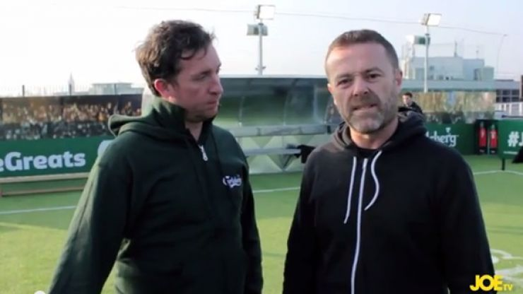 Video: JOE meets and beats GOD himself, Robbie Fowler, in a skills challenge