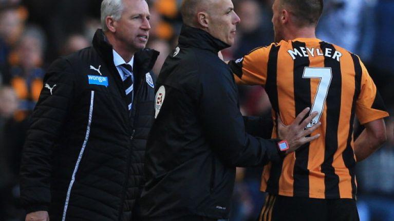 Pardew cops seven-match ban for Meyler headbutt