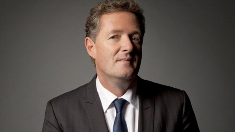 Hate him or love him, Piers Morgan had nice words for Brian O'Driscoll & Temple Street Hospital on Twitter