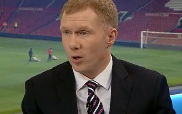 Video: Paul Scholes stuck the boot into Arsenal and defended David Moyes on Sky last night