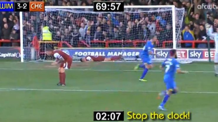 Video: AFC Wimbledon remarkably come from 2-0 down to go 3-2 up in 127 seconds