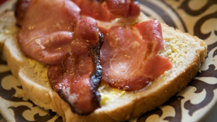Wish your iPhone alarm released the delicious smell of bacon in the morning? There's an app for that